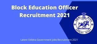 block education officer recruitment 2021